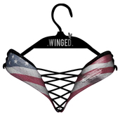 .WINGED. Tina Shorts // Flag
