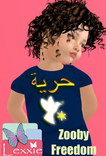 Lexxie Zooby Child Freedom Shirt HUD