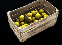38 - 8f8 - Green Grocers - Pear Crate