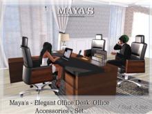 Maya's - Elegant Office Desk - Office Accessories - Set