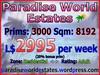 Paradise World Estates - Residential Land For Sale - Yubia - Land Rentals