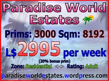 Paradise World Estates - Residential Land For Sale - Yubia - Land Rentals
