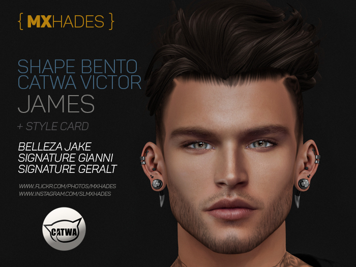 JAMES SHAPE BENTO CATWA VICTOR - MXHADES
