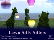 Lawn Silly Sitters