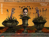 irrISIStible : HALLOWEEN CREEPY PLANTERS 3 TEXTURES INCLUDED
