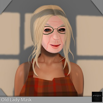 ::: Core ::: 1L Old Lady Mask