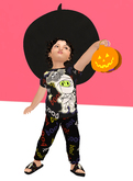 Lexxie Zooby Halloween Outfit