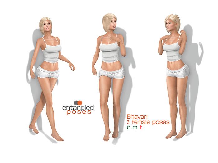 entangled poses - Bhavari