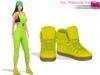 Full Perm Mesh Hip Hop Boots
