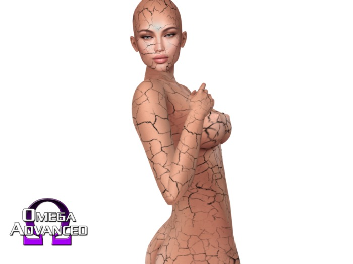 ~PP~ Cracked Skin - Full Body and Head Appliers