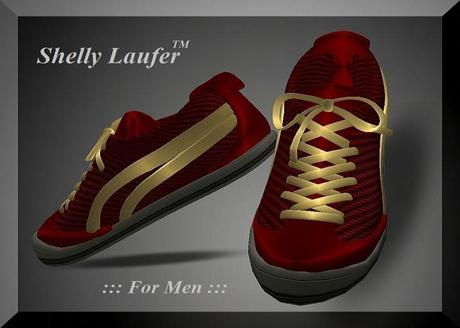 Shelly Laufer Sneakers [Gold Red