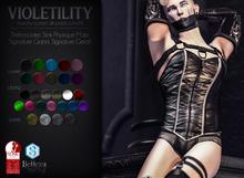 Violetility - Murphy Corset [Silk]