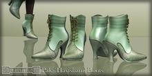 Eclectica 'Havisham Boots' in pale greens