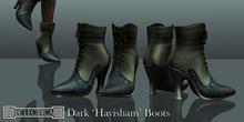 Eclectica 'Havisham Boots' in dark greens