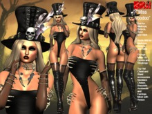 **MISS VOODOO V3 THEME COSTUME STYLE COMPLET OUTFIT **