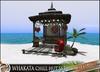 HeadHunter's Island - Whakata tiki chill hut set - 40 animations - drink givers /lights/fishing decor - MESH