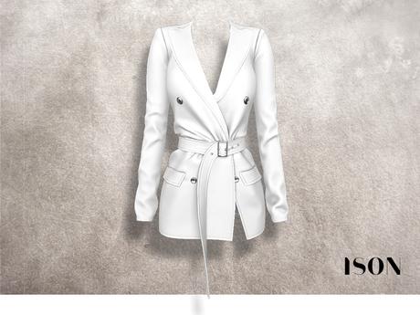 ISON - kylie dress (white)