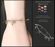 Candy Crunchers - Beach Charm Bracelet W/ HUD
