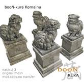 *booN-kura Komainu