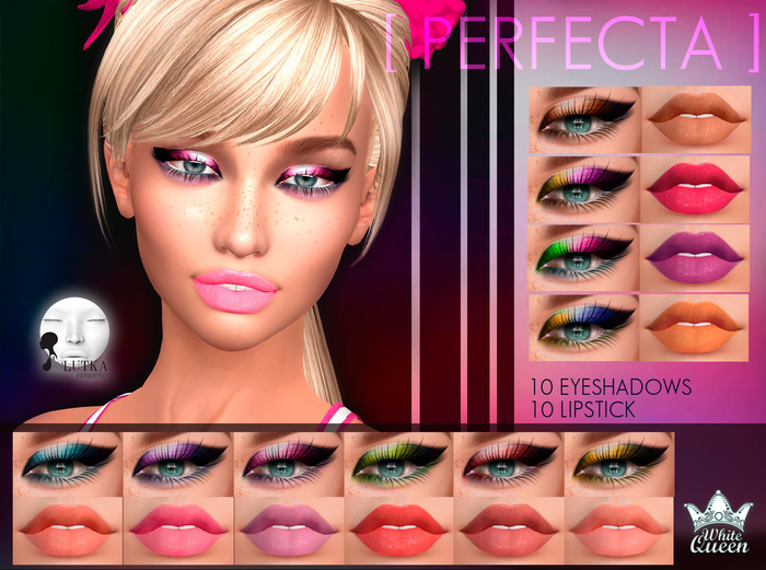 MAKE UP PERFECTA - LELUTKA - WHITE QUEEN