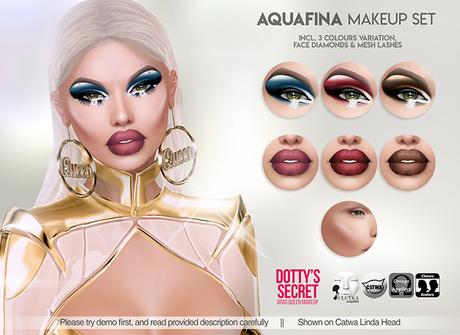 Dotty's Secret - Aquafina - Drag Queen Make-up Set