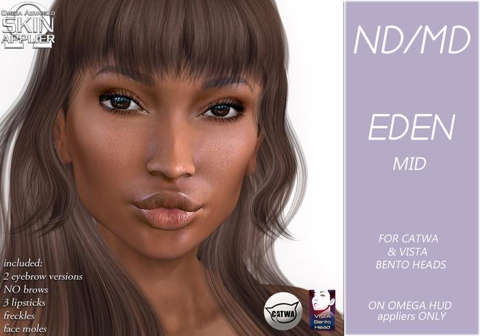 ND/MD Eden HEAD skin - mid