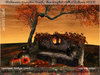 irrISIStible : HALLOWEEN AUTUMN PUMKIN BENCH and TREE SCRIPTED + HUD