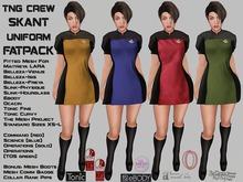 [u]Sci-Fi Star Trek Dress TNG Cosplay StarFleet SKANT Uniform FATPACK Maitreya Belleza Slink TMP Mesh Body Classic