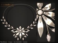 KUNGLERS - Cibele necklace - Crystal