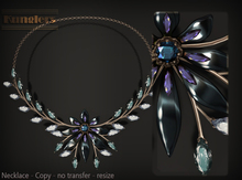 KUNGLERS - Cibele necklace - Topaz