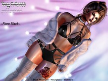 [Sexy Princess] Fiore Black Bodysuit