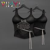 Vinyl - Quinn Tank & Torso Belt Pak Black