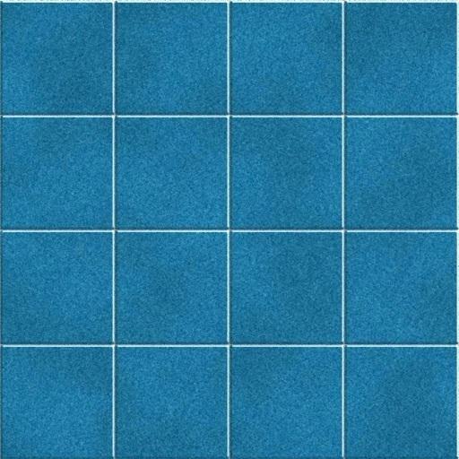 Seamless Blue Tile Texture