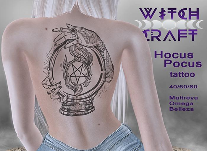 [Witchcraft] Hocus Pocus tattoo