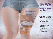 [WitchCraft] Friends tattoo