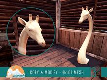 Luftmensch Crafts - Giraffe Wood Sculpture