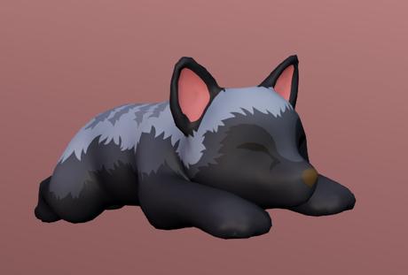 Silver Fox Stuffed Animal, Second Life Marketplace Awoo Foxy Plush Silver Fox