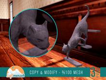 Luftmensch Crafts - Cat Stairs Down