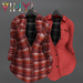 Vinyl - LIT Flannel Pak VINTAGE RED