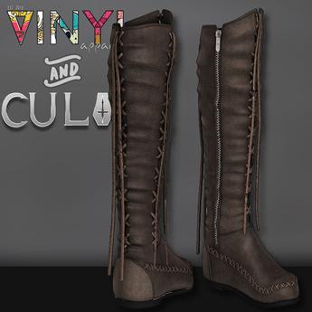 Vinyl - Trial Native Boots Pak Brown