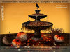 irrISIStible : HALLOWEEN AUTUMN STONE FOUNTAIN PATCH ANIMATED + 4 TEXTURES HUD