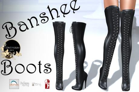 Continuum Banshee Boots