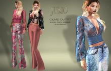 .:JUMO:. Olive Outfit - Maitreya Belleza Slink - ADD ME