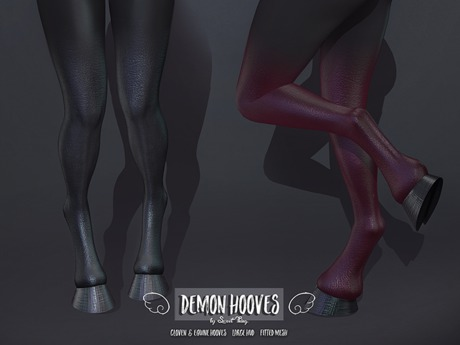 Sweet Thing. Demon Hooves (Maitreya, Legacy, Hourglass, Isis, Freya) UPDATED FOR LEGACY F! Perfect for demon, succubus..