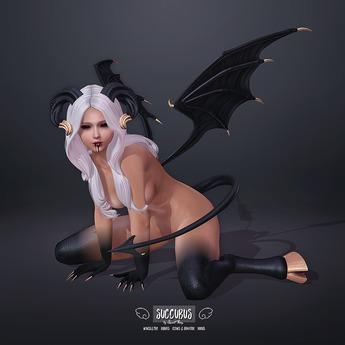 Sweet Thing. Demon Succubus Mega-Fatpack DEMO (Maitreya Hourglass Isis Freya Legacy) Full Fantasy RP Set