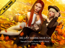 -DNC- We just wanna have fun - Female Couple Bento Pose