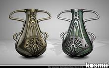 kosmii :: Loetz Glass Vase [pewter] [boxed]