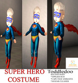 ToddleeDoo  SUPERHERO APPLIER AND ANIMATED CAPE TOTALLY RANDOM
