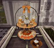 CJ Autumn Pumpkin Tray diff. Drink Dispenser