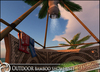 HeadHunter's Island - Outdoor bamboo shower - w/ reef rock palm - 27 multi - animations - MESH